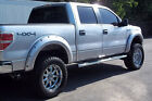 09-2014 FORD F150 4PC SMOOTH PAINTABLE POCKET RIVET STYLE FENDER FLARES