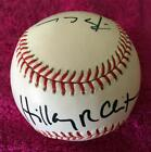 HILLARY CLINTON & BILL CLINTON SIGNED 2007 WORLD SERIES BASEBALL! PSA DNA * #1