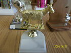 Goat trophy award about 4 high includes engraving 4H State Fair