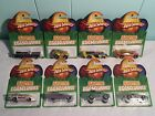 HotWheels Easter Eggsclusives Entire 8 Car Set MINT ON Cards Cadillac Pontiac ++