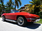 Chevrolet Corvette Recent Restoration Knock Off Wheels A C Side Exhaust