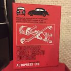 Volkswagen Beetle 1968-70 Autobook Workshop Manual for All Volkswagen 1200, 1300