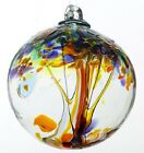 KITRAS Tree of Enchantment HAPPINESS Blown Art Glass Ornament 6