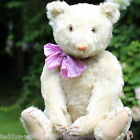 ANTIQUE WHITE STEIFF TEDDY BEAR 1920 w GROWLER MOHAIR VERY RARE 50 CM