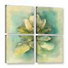 'French Magnolia' by Cheri Blum 4 Piece Painting Print on Wrapped Canvas Set