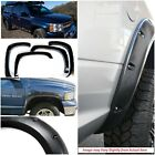 APS Fender Flares Pocket Rivet Style 4 Piece Set 1994-2001 Dodge Ram Full Size