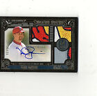 2016 Topps Museum Mark McGwire Triple Game-Used Patch Autograph # 25