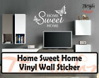 Home Sweet Home Wall expressions vinyl sticker