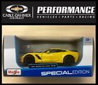2015 Chevrolet Corvette ZO6  Yellow  MAISTO Die Cast Car 1:24 BRAND NEW IN BOX