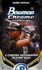 2014 Bowman Chrome Baseball Factory Sealed Hobby Box - Kris Bryant Autographs!!!