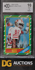 1986 Topps Jerry Rice Rookie BCCG 10 BGS Or PSA Cross Over Mint or better