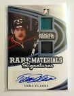 2015 16 ITG Leaf Heroes and Prospects Teemu Selanne Rare Materials auto 4 5!
