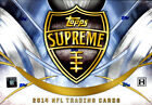 2014 Topps Supreme Football FACTORY SEALED Hobby Box Free S&H
