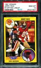 PSA 10 1991 KENNER STARTING LINEUP SLU JERRY RICE pop 2 San Francisco 49ers