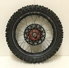 2009 Honda CRF450R CRF 450R 450F CR450F 450 Rear Wheel Rim Tire RAD Hub EXCEL