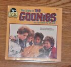 The Story of the Goonies book and record Read-Along Adventure Collectible 1985