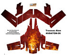 Fire Traxxas Aton Plus Body Wrap Decal Flames Skin Sticker Canopy Ultradecal