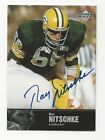 1997 Upper Deck Legends Auto Ray Nitschke Green Bsay Packers Autograph