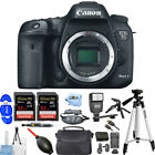 Canon EOS 7D Mark II DSLR Camera Body Only PRO BUNDLE BRAND NEW
