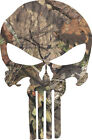 Punisher Realtree Mossy Oak Exterior Window Decal - Various Sizes