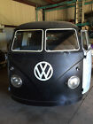 Volkswagen Bus Vanagon 1958 vw panel bus vanagon safari rust free original hand crank motor