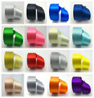 New 5 Yards 50mm 2 Satin Ribbon Multi Purposes Craft Wedding Party Pick Colors