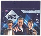 2015 Topps Dr. Who Factory Sealed 12 Box Hobby Case - 24 Hits Per Case