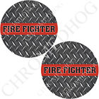 Medallion Decal Insert Set for Harley Brembo Brake Calipers - DP Fire Fighter RL