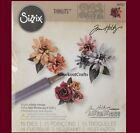 Sizzix THINLITS TINY TATTERED FLORALS with Quilling Tool 660227 by Tim Holtz