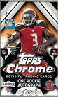 2015 Topps Chrome Football Factory Sealed Hobby Box - 1 Rookie Autograph Per Box