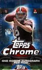 2014 Topps Chrome Football Factory Sealed Hobby Box -1 RC Autograph in EVERY Box