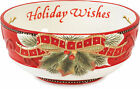 Fitz & Floyd Holiday Wishes Bowl One Size