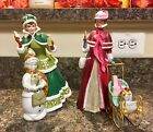 AVON Mrs. Albee Figurines 1989 And 2003 Lot Of 2
