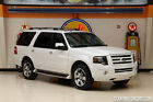 Ford: Expedition Limited 2010 White below $18000 dollars