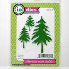 NEW Impression Obsession Dies FIR TREES Scrapbooking Card Metal Die NATURE