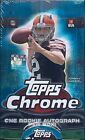 2014 TOPPS CHROME FOOTBALL FACTORY SEALED HOBBY BOX