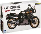 Aoshima Naked Bike 05 Kawasaki GPZ900R Ninja 2002 1/12 scale kit