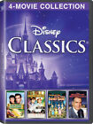 Disney Classics 4 Movie Collection New DVD Boxed Set