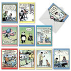 M6464OCB Very Bizarro 10 Assorted Blank All Occasion Note Cards Envelopes