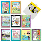 M6465OCB Doggone Funny Mccoy 10 Assorted All Occasion Note Cards Envelopes