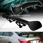 "57"" DRAGON-3 STYLE REAL FULL CARBON FIBER REAR TRUNK GT SPOILER WING UNIVERSAL"