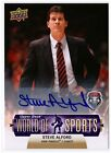 Steve Alford 2011 Upper Deck World of Sports New Mexico Coach AUTOGRAPH #65