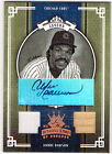 Andre Dawson Diamond Kings Auto Jersey Bat 42 50 Cubs*