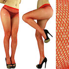 RED Silver GLITTER FISHNET PANTYHOSE TIGHTS CROSSDRESSER DRAG QUEEN Christmas