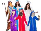 Holy NATIVITY Christmas Theatre Play Adult Child Fancy Dress Costume Mary Joseph