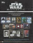 2016 TOPPS STAR WARS MASTERWORK FACTORY SEALED HOBBY BOX