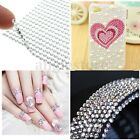 2x 775Pc Stick Diamante Rhinestones Self Adhesive Crystals Gemstones Wedding Car