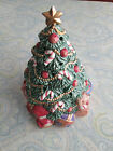 Vintage Fitz and Floyd 1994 Collectible Hand Painted Christmas Tree