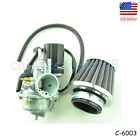 Carburetor W Air Filter Fits 2 Stroke 50cc Mosquito Scooter Moped Carb US Ship