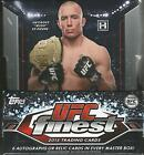 2013 Topps Finest UFC Hobby Box -6 Hits Per Box